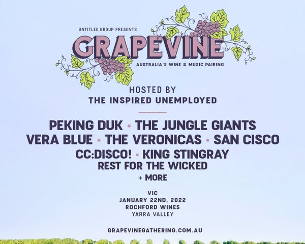 Grapevine Gathering 2022 - VIC tickets