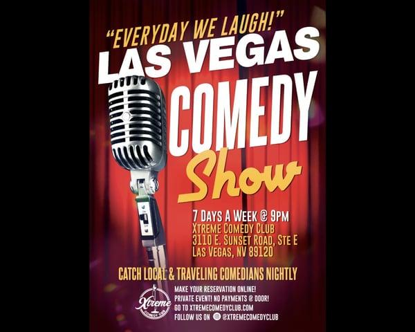 Everyday We Laugh! (Wednesdays) tickets