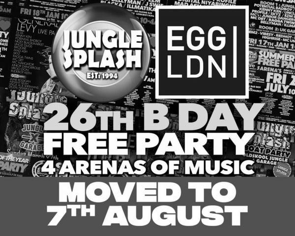 [RESCHEDULED] Jungle Splash Free Birthday Party tickets