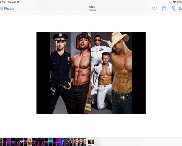 Orlando Hunks Male Revue Show tickets