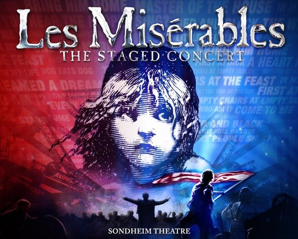 Les Miserables - The Staged Concert tickets