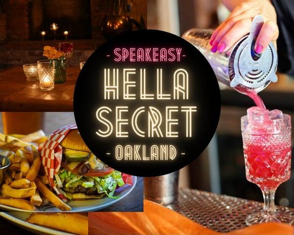 HellaSecret Speakeasy Comedy & Cocktail Night tickets