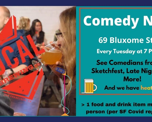 Live Comedy at the San Francisco Local Brewing Co. tickets