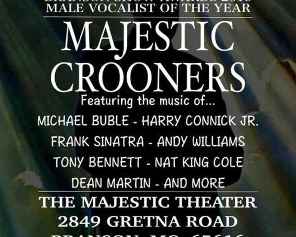 Majestic Crooners Show tickets