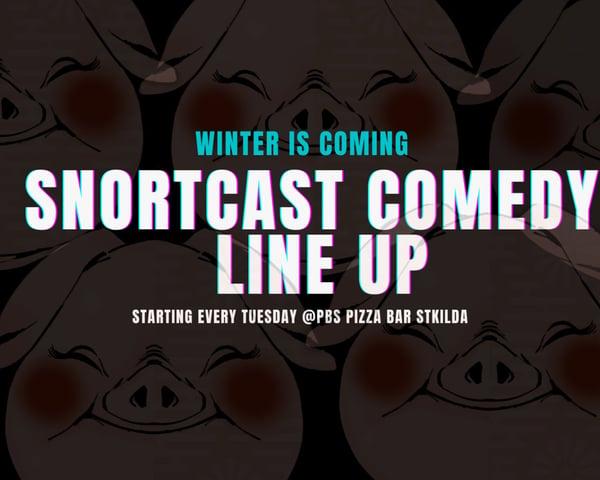 Copy of Copy of Copy of SnortCast Comedy with PB's Bar St Kilda tickets