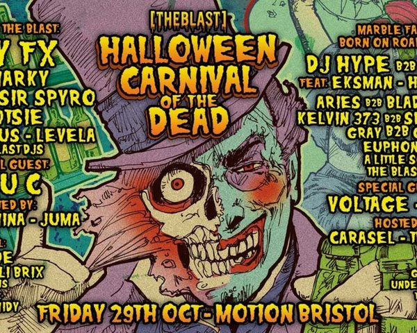 The Blast Halloween Carnival of the Dead tickets