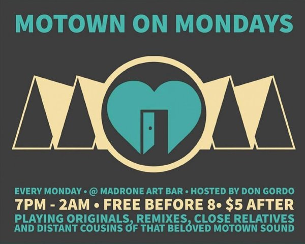Motown on Mondays tickets