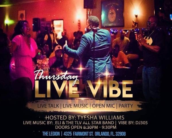 Thursday Live Vibe tickets